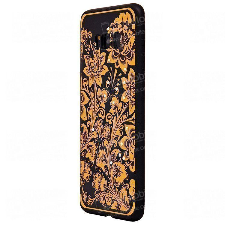 Чехол-накладка NXE Autumn series для Samsung Galaxy S8 Plus (рисунок)(001)