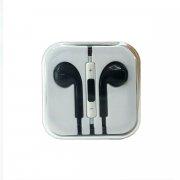 Проводная стереогарнитура для Apple (3.5 мм) (черная)